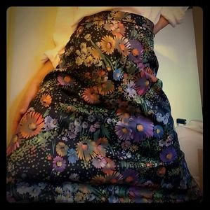 😜 Iconic 1960s boho/hippie psychedelic maxi skirt